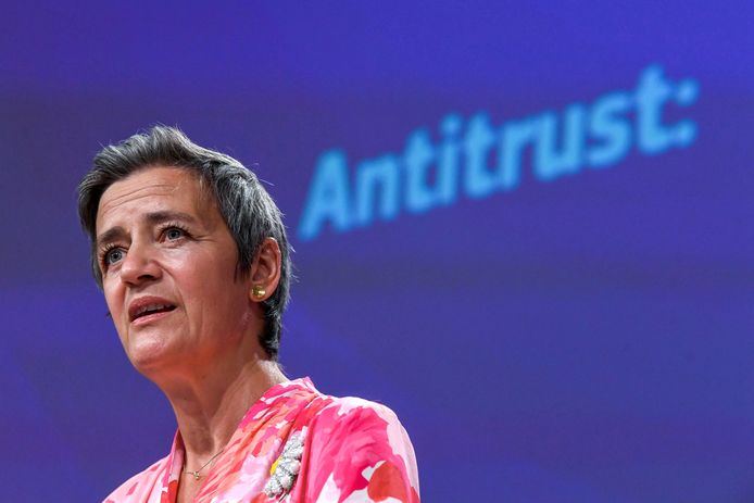 Margrethe Vestager, commissaire européenne en charge de la Concurrence.