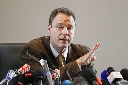 """Eric Maillaud, le procureur de la république d'Annecy, avait rappelé lors de sa conférence de presse que """"la tuerie de Chevaline n'est pas élucidée"""" et qu'il tenait au principe de présomption d'innocence."""