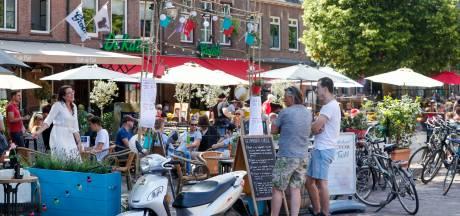 Wageningse terrassen vieren hun eigen 'bevrijdingsdag'