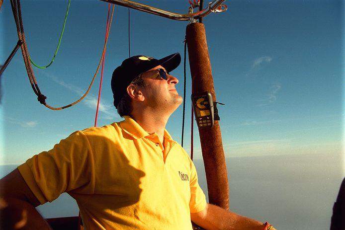 Ballonvaarder Wim Verstraeten op een foto uit 2000.