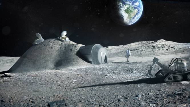 """""""Binnen de tien jaar bouwen we een basis op de maan"""""""