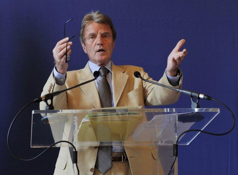 De Franse minister van buitenlandse zaken Bernard Kouchner. Foto EPA/Horacio Villalobos Beeld