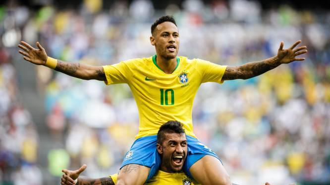 Het WK in cijfers: Neymar kreeg meeste schoppen, Engeland meeste passes