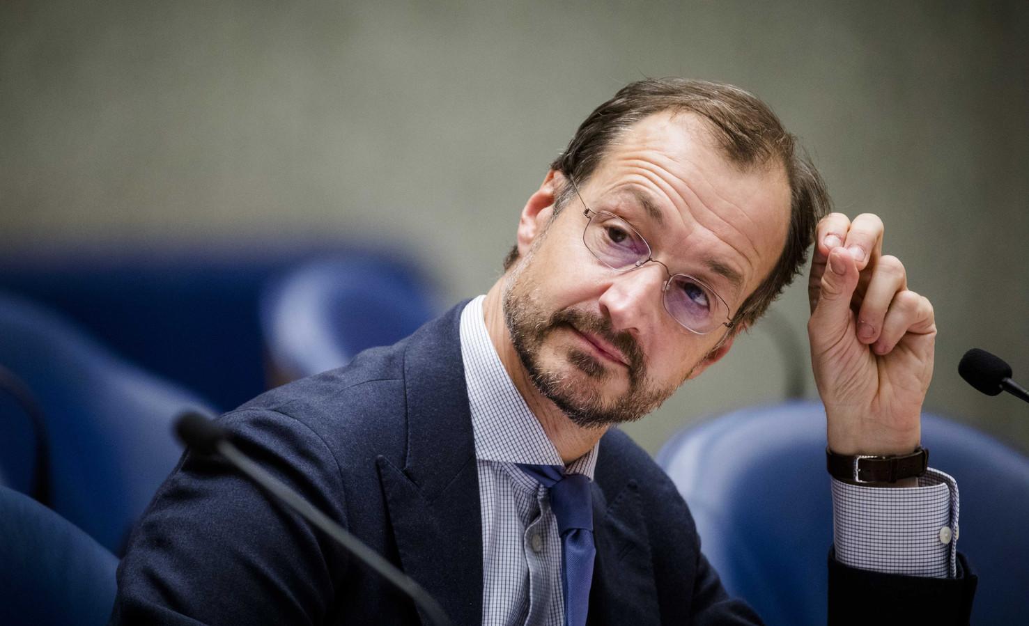 Minister Eric Wiebes van Economische Zaken en Klimaat (VVD).