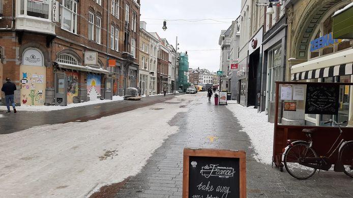 Rust in de Hinthamerstraat in het Bossche centrum