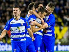Dolend PEC Zwolle heeft nog zeven finales en vijf concurrenten voor het gewenste toetje