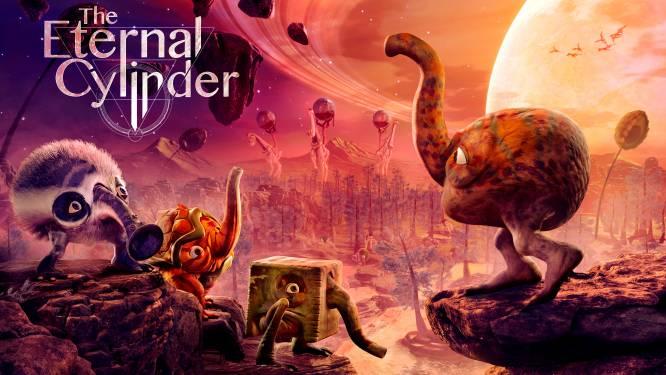 The Eternal Cylinder is een unieke game met erg lelijke aliens en een grote rol voor een cilinder
