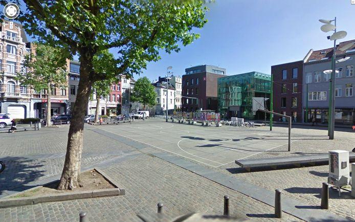 Het De Coninckplein in Antwerpen.