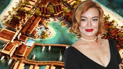 """""""Welkom in Lindsayland"""": Lindsay Lohan creëert eigen eiland voor de kust van Dubai"""