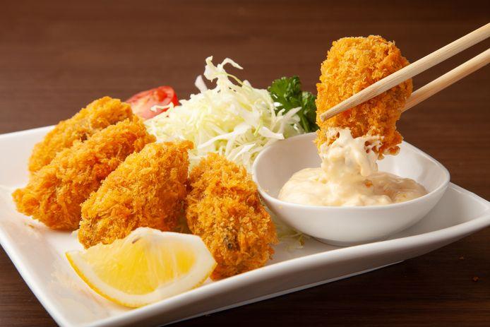 Je kunt bijna alles paneren: vlees, vis, groenten, zelfs oesters.