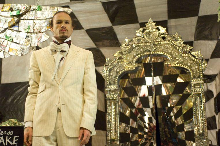 Heath Ledger in 'The Imaginarium of Doctor Parnassus' (2008). Beeld RV