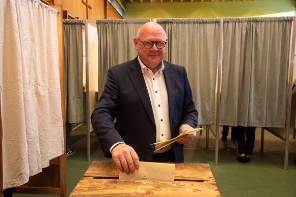 Burgemeester Alain Pardaen (CD&V).