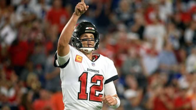 Weer een record rijker: Tom Brady gidst Tampa Bay Buccaneers naar zege en wordt zo oudste 'starting quarterback' ooit die NFL-wedstrijd wint