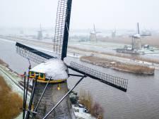 Eerste beetje sneeuw van het jaar zorgt voor winterse taferelen in de regio