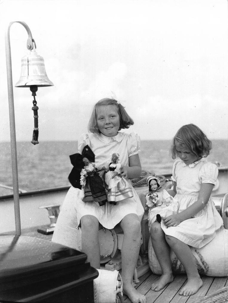 Blauwe knietjes bij Beatrix en Irene Beeld Gamma-Keystone via Getty Images