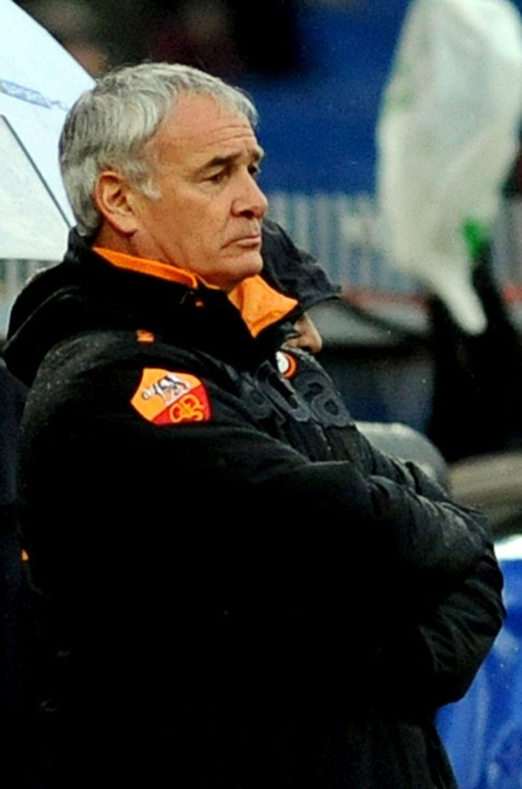 Ranieri gaf na de ommekeer in Genoa toe aan de druk van de fans. Beeld AFP