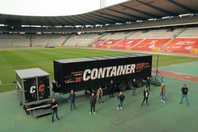 De Containercup komt naar Zelzate.