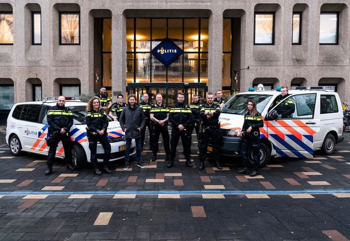 Deze Haagse agenten doen mee aan het televisieprogramma Bureau Hofstad