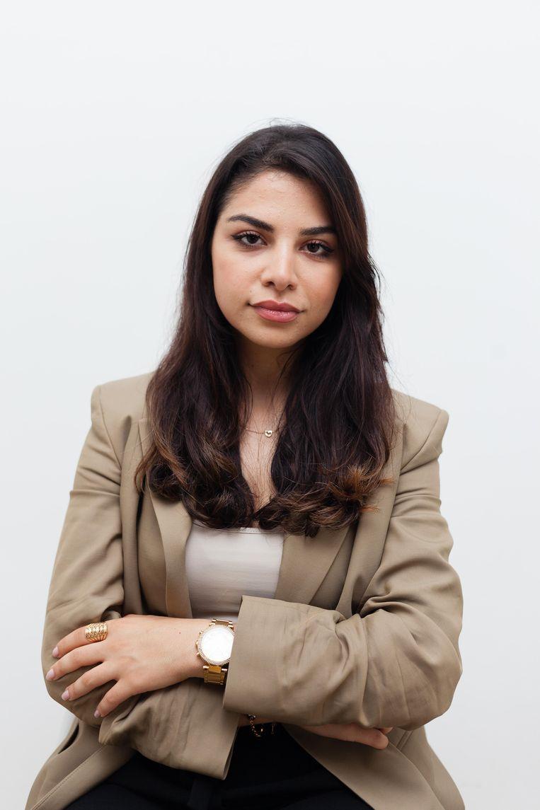 Nina Abu Amro. Beeld Nina Schollaardt