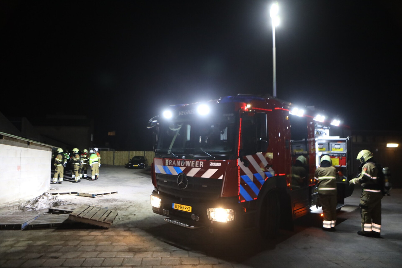 Drugslab aangetroffen in Veghel.
