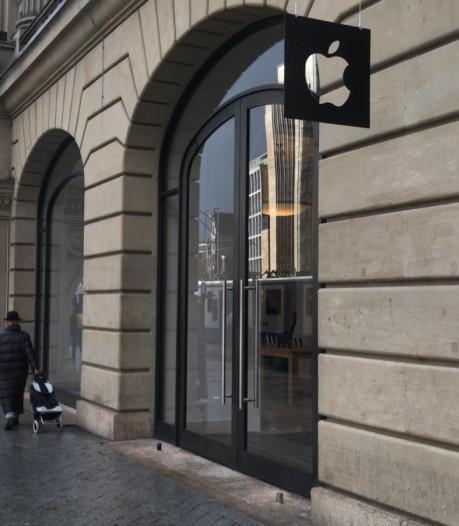Geen extra zorgen bij ondernemers na overval Apple Store
