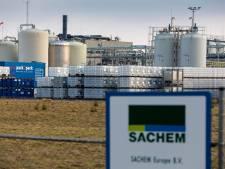 Opnieuw lekkage bij Sachem, giftige vloeistof in bak opgevangen