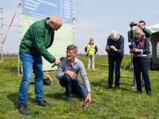 Feestdag voor Vogelwerkgroep Geesteren met 'nestdrone'