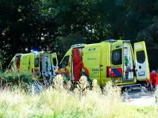 Motorrijder zwaargewond naar het ziekenhuis na eenzijdig ongeluk in Winterswijk