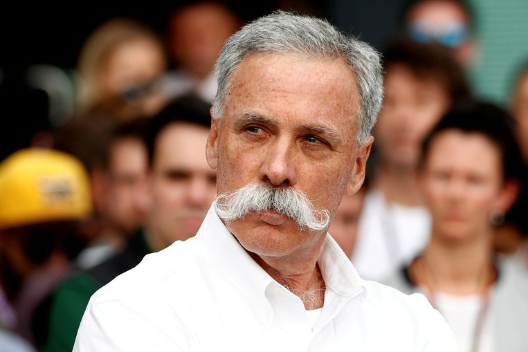 Formule 1-voorzitter Chase Carey.