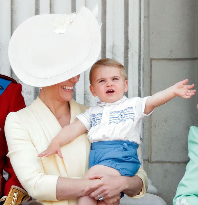 Kate met zoon Louis. Beeld Getty Images