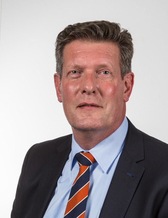 VVD-fractievoorzitter en raadslid Henk Noteboom.