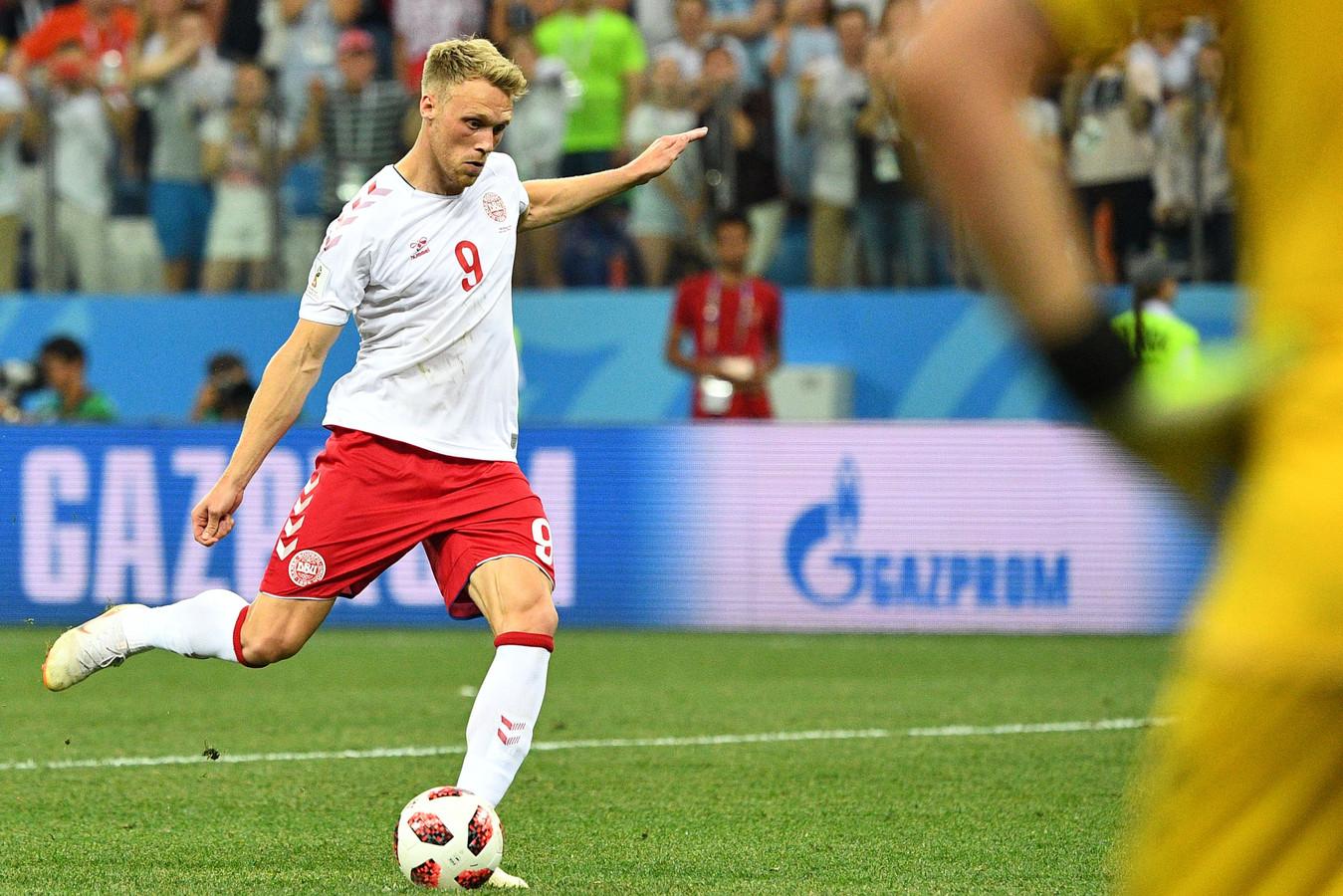 De spits miste een strafschop tegen Kroatië.
