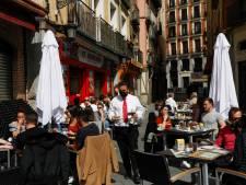 Terrassen in Spanje al langer open, hoe gaat het daar met de besmettingen?