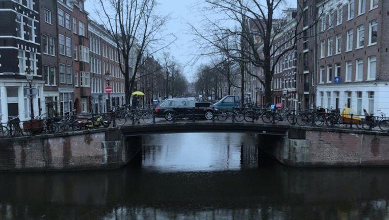 Brug 110 van de Lijnbaansgracht met de Lauriergracht Beeld Gemeente Amsterdam