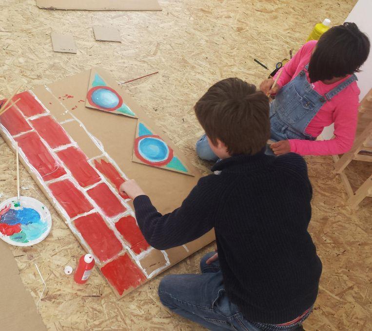 Dit is het weekend voor creatieve kinderen. Beeld Groeten van Marc