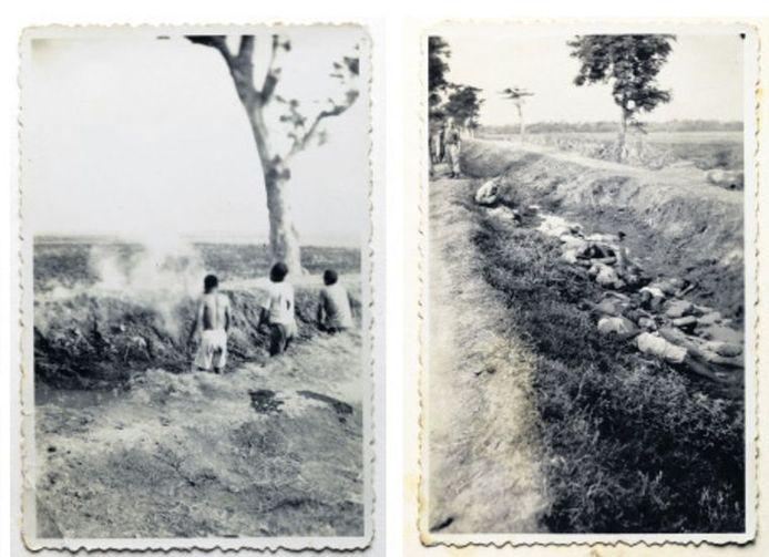 Deze foto's van een executie door Nederlandse militairen in Nederlands-Indië kwamen uit een privéalbum van een soldaat die diende als dienstplichtige.