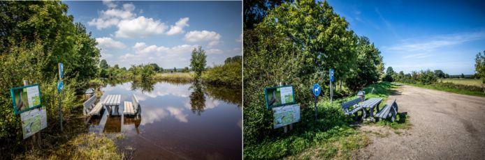 De natuur aan het Schulensbroek heeft zich stilaan weer hersteld.