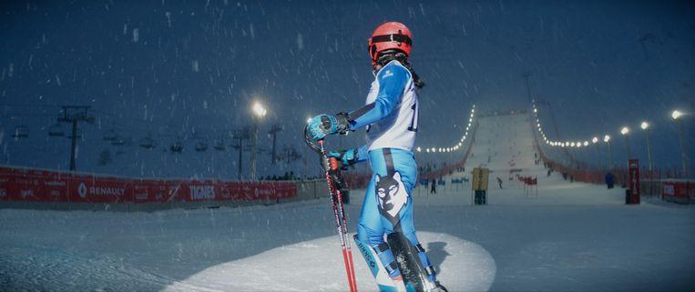 Slalom. Beeld