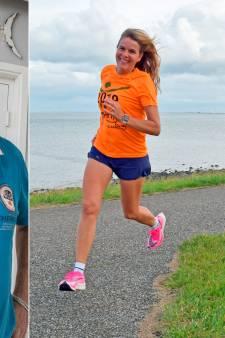 Zeeuwen in marathon Rotterdam: Anoucha loopt 'm voor het eerst, Peter Paul voor het laatst