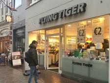 Drukte blijft vooralsnog uit bij nieuwe actie van Flying Tiger