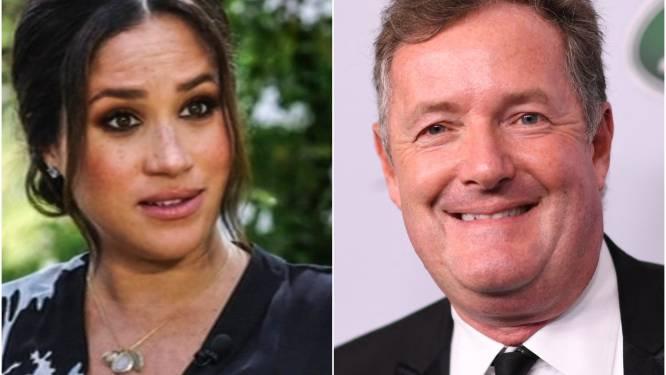 """Piers Morgan haalt nogmaals uit naar Meghan en Harry: """"Prins Philip vond Oprah-interview pure waanzin"""""""