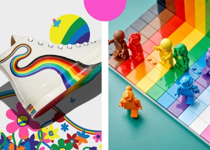 Converse / Lego