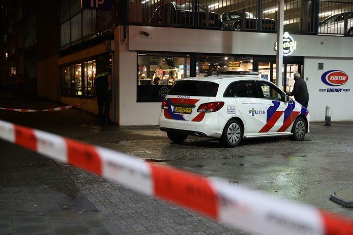 Overval bij tankstation aan de Van Muijlwijkstraat in Arnhem