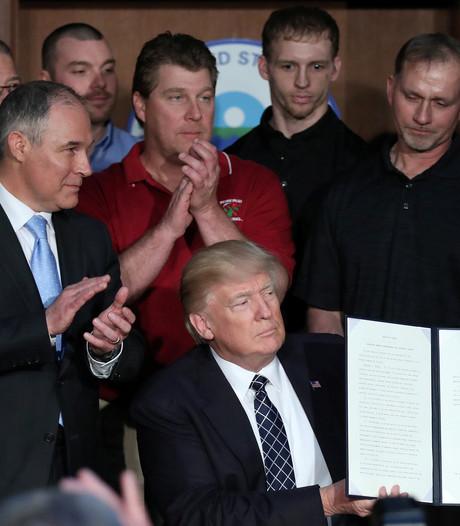 Trump ontmantelt klimaatbeleid Obama met decreet