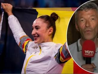 """Jan Dewyngaert zag Nina Derwael vanaf de eerste rij de olympische titel pakken: """"Het geluk spatte ervan af"""""""