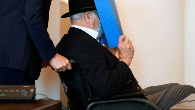 Twee jaar voorwaardelijk voor voormalige SS-kampbewaker (93)