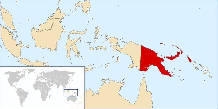 Papoea-Nieuw-Guinea. Beeld Wikipedia