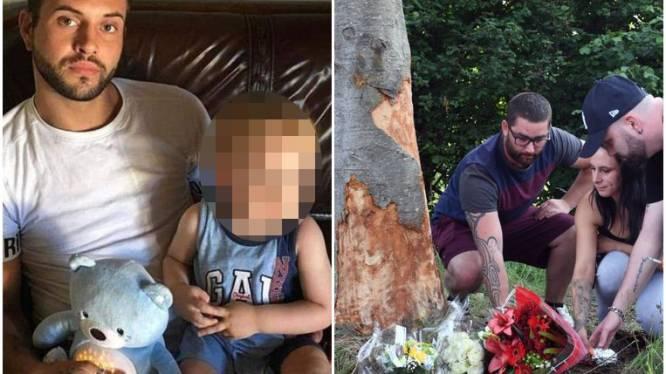 """Christophe (26) laat het leven bij zwaar verkeersongeval in Holsbeek: """"Zijn zoontje van twee jaar was zijn wereld"""""""