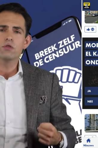 """""""Breek zelf de censuur"""": onze reporter gebruikt samen met experts de app van Vlaams Belang en ontdekt wat je dan te lezen krijgt"""