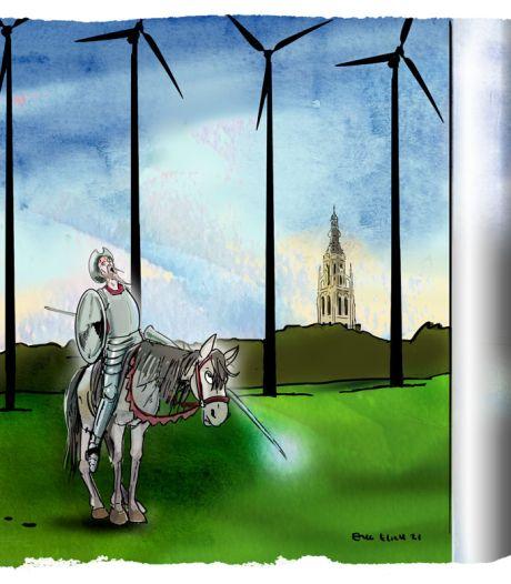 Windmolens van 235 meter en tienduizenden zonnepanelen: een oplossing hier is een probleem bij de buren